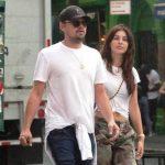 Camila Morrone with Leonardo DiCaprio