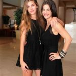 Camila Morrone with her mother Lucia