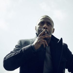 Idris Elba Smoking