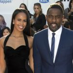 Idris Elba with his fiance Sabrina Dhowre