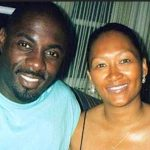 Idris Elba with his first wife
