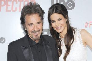 Lucia Sola with Al Pacino