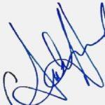 Amber Heard signature