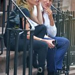 Amber Heard with her boyfriend Vito Schnabel