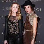 Amber Heard with her ex-girlfriend Tasya Van Ree