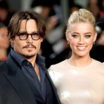Amber Heard with her ex-husband Johnny Depp