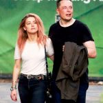 Amber heard with her ex-boyfriend Elon Musk