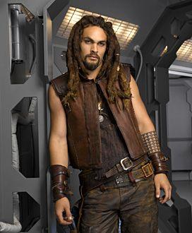 Jason Momoa in Stargate Atlantis