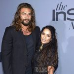 Jason Momoa with his wife Lisa Bonet