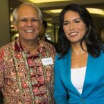 Tulsi Gabbard with her father