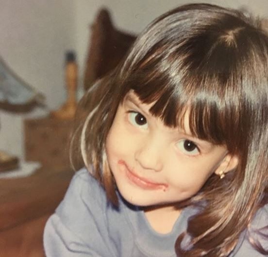 Vanessa Ponce de Leon's Childhood Photo