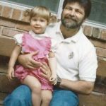Angel Giuffria With Her Father