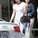 Hailee Steinfeld With Her Audi