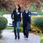 MacKenzie Bezos With Her Ex-Husband Jeff Bezos