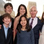 MacKenzie Bezos With Her Husband And Children
