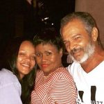 Ronald Fenty With His Ex-wife And Daugher Rihanna