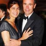 Juliana Awada with Bruno Laurent Barbier