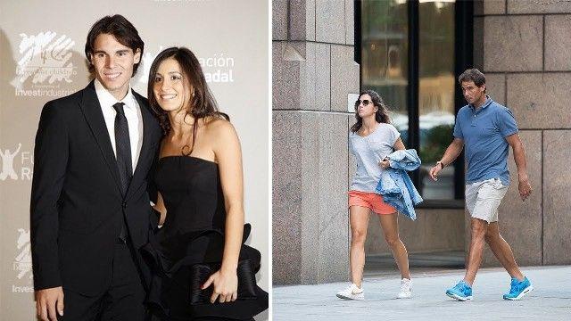 Mery Perello with Rafael Nadal