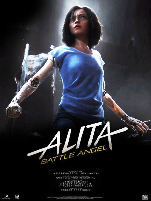 Poster Of Alita Battle Angel (2019)