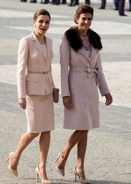 Queen Letizia of Spain and the first lady of Argentina, Juliana Awada