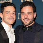 Rami Malek with his brother, Sami
