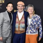Rami Malek with his parents