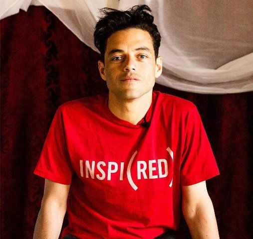Rami Malik works with RED