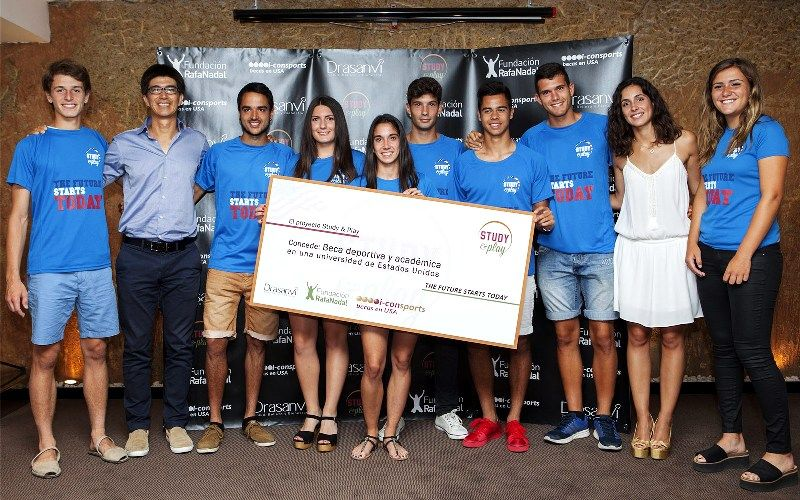 Xisca Perello at an event organized by the Rafa Nadal Foundation