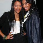 Angela Simmons and Vanessa Simmons