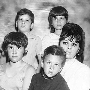 Early photo of Victoria DiGiorgio's children