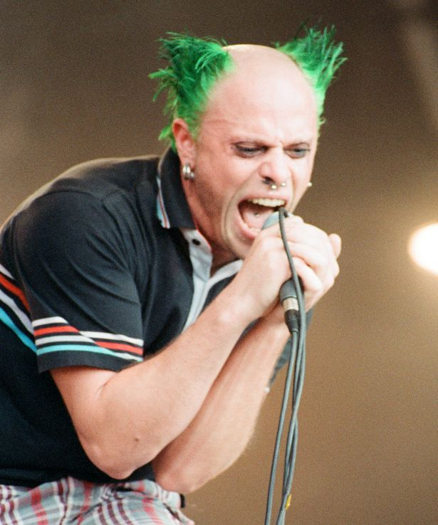 Keith Flint singing