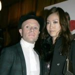 Keith Flint with his wife