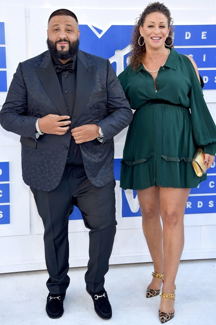 Nicole Tuck with her husband DJ Khaled