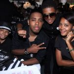 Russy Simmons with his brothers and Sister Angela Simmons