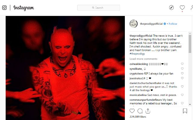 The Prodigy Instagram