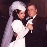 Victoria DiGiorgio with her then husband John Gotti