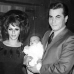 Young John Gotti with wife, Victoria and firstborn, daughter Angel