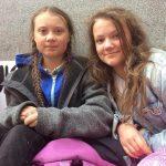 Greta Thunberg With Her Sister Beata