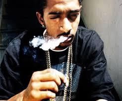 Nipsey Hussle smoked
