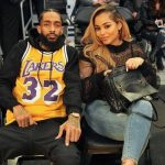 Nipsey Hussle with Lauren London
