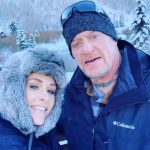 Michelle McCool with her husband Mark Calaway