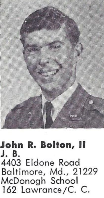 An Old Photo of John Bolton