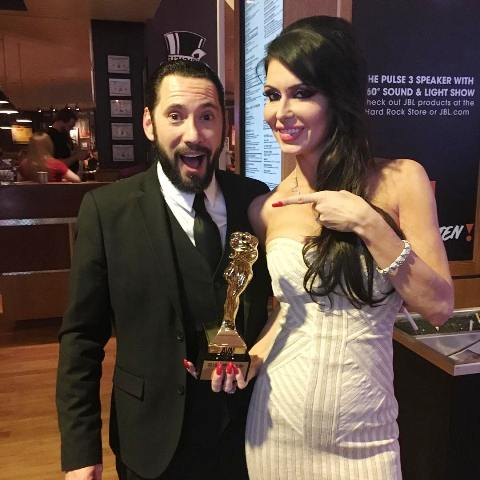 Jessica Jaymes with AVN Awards