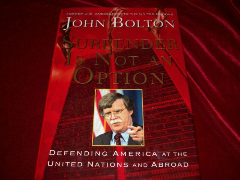 John Bolton Memoir