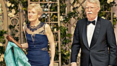 John Bolton With His Wife Gretchen Smith