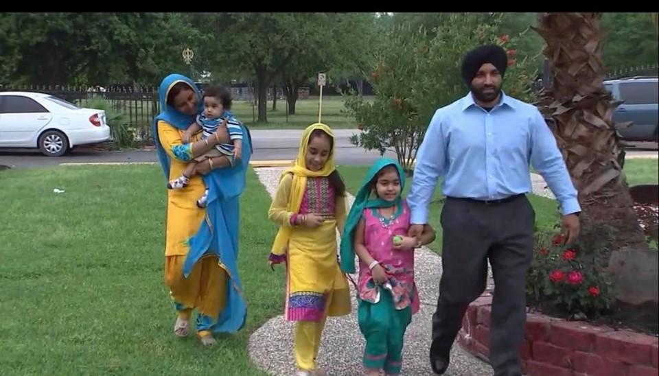 Sandeep Dhaliwal Family