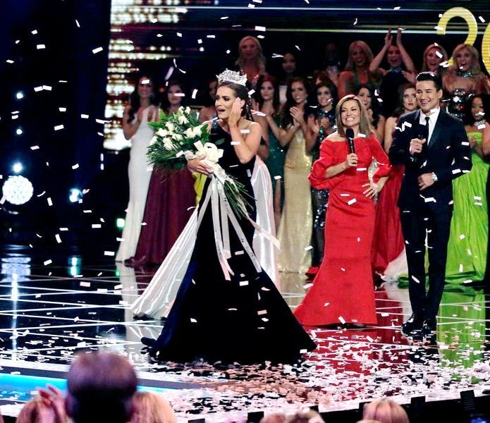 Camille Schrier after being crowned as Miss America 2020