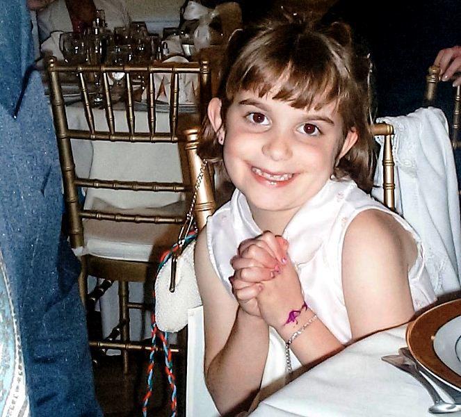 Camille Schrier during her childhood days