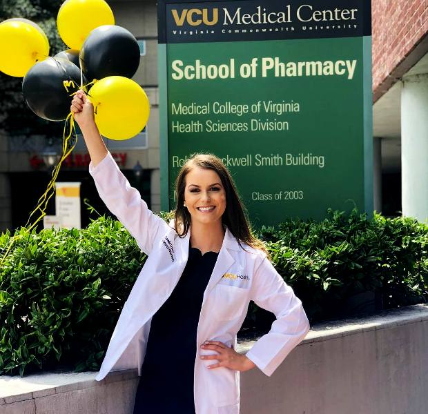 Camille Schrier in Virginia Commonwealth University (VCU)