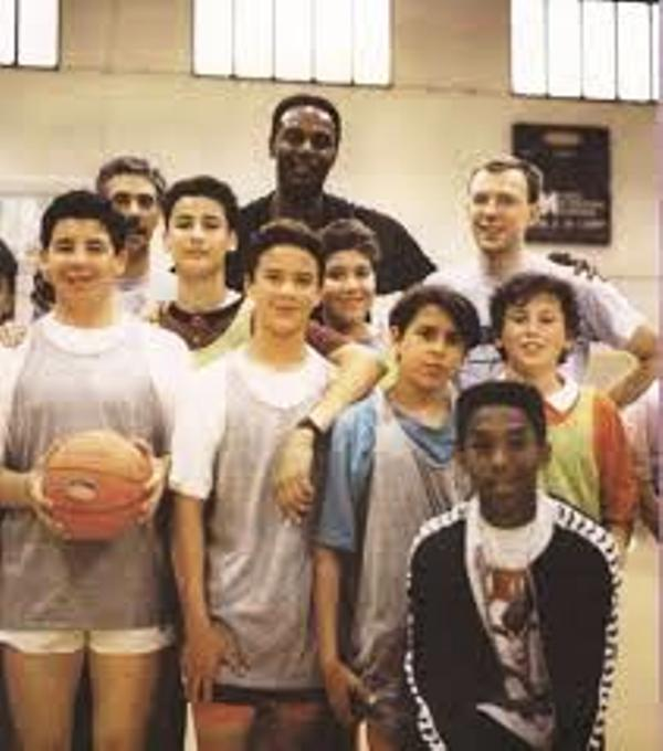 The 11-year-old Kobe Bryant while in Italy